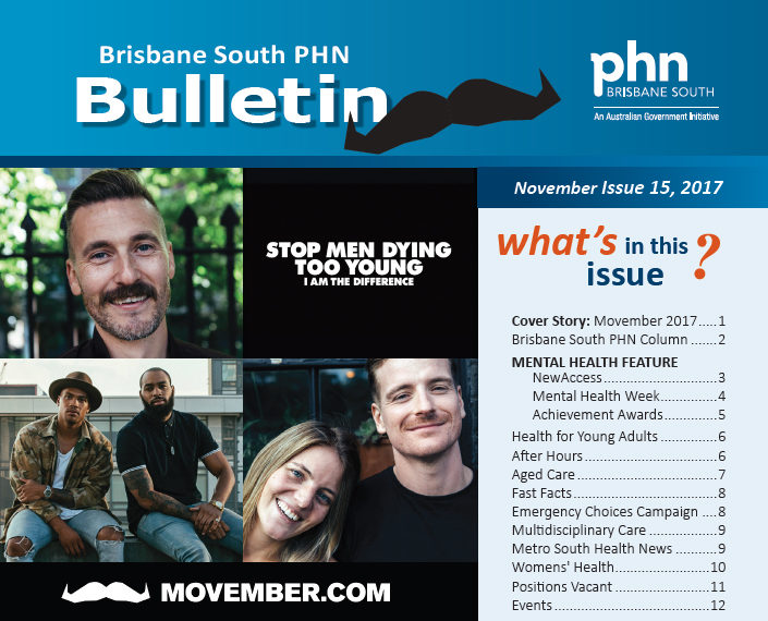 Brisbane South PHN Bulletin 2017 Issue 15