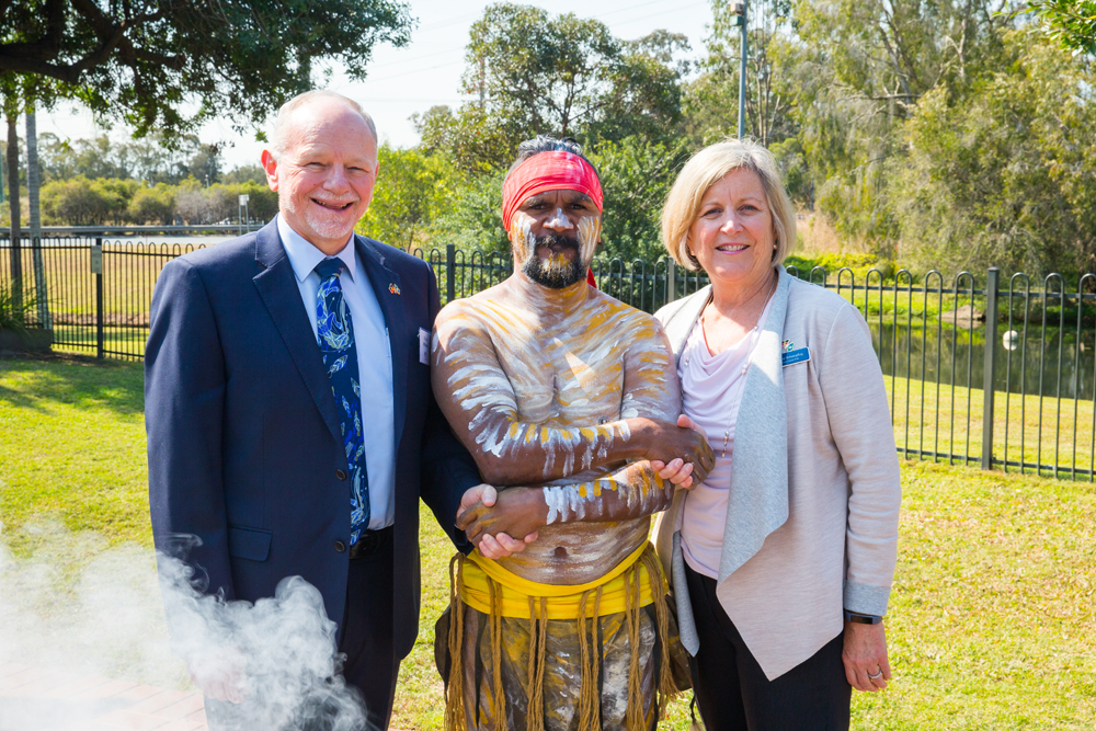 Indigenous smoking ceremony cleanses the way forward for Brisbane South PHN Stretch RAP