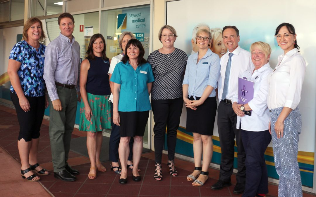 Brisbane South PHN's domestic and family violence training on the agenda for Minister Hunt and Ross Vasta MP
