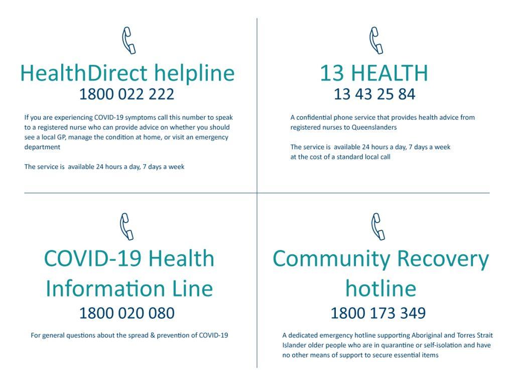 Phone lines for older community members